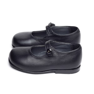 MARY JANES LEATHER BLACK