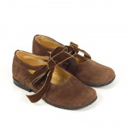PRINCESS SUEDE DARK BROWN